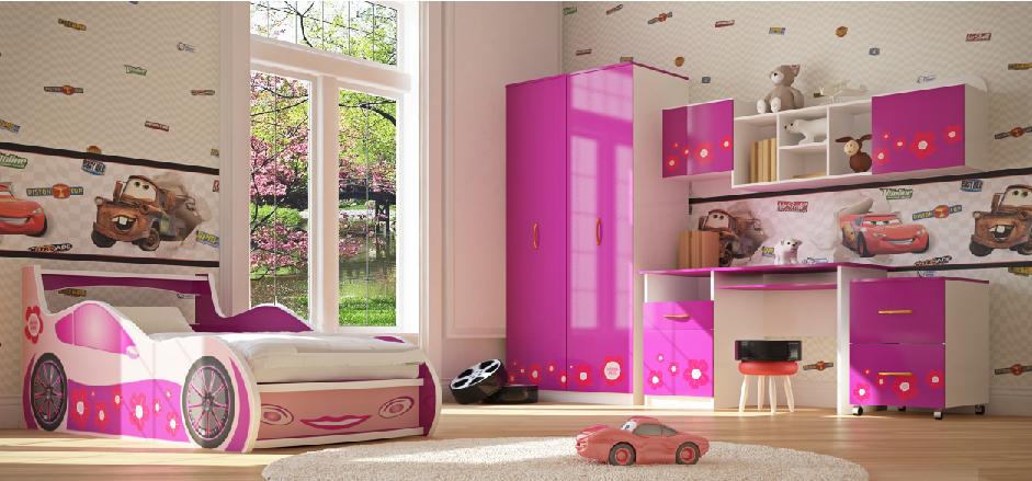 Детская комната Лили (серия Драйв)