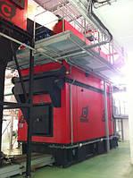 Промышленные водогрейные котлы на щепе, пеллетах, биомассе Комконт СН Compact