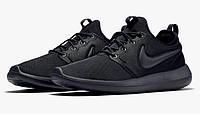 Женские кроссовки Nike Roshe Two Black Mono, фото 1
