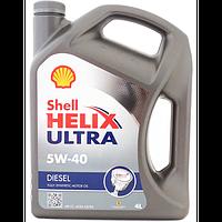Масло моторное Shell Helix Ultra Diesel 5W-40 4л.