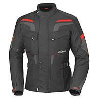 Мотокуртка текстильна Buse Lago Pro чорно-червона, XS