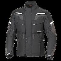 Мотокуртка текстильна Buse Lago Pro чорно-біла, XS