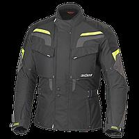 Мотокуртка текстильна Buse Lago Pro чорно-жовта, XL