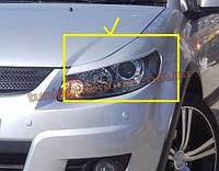 Реснички на фары для Suzuki SX-4 2006-2013