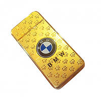 Электроимпульсовая USB зажигалка с аккумлятором BMW Elite