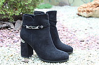 Стильные демисезонные ботиночки на каблуке, фото 1