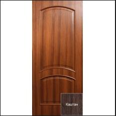 Двери шпонированные дуб Лаура глухие Омис, фото 2