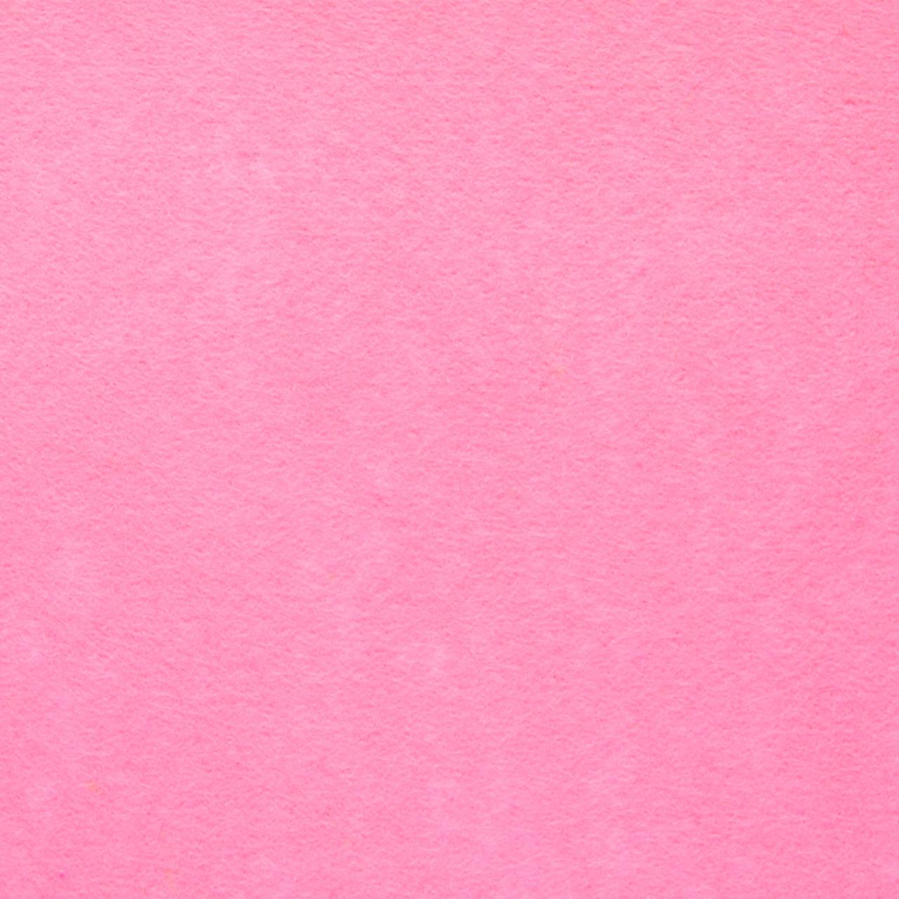 Фетр клеевой жесткий 1 мм, 20x30 см, РОЗОВЫЙ