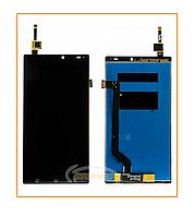Дисплей A7010, Vibe K4 Note с сенсором (тачскрином) Black Original