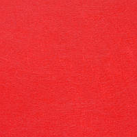 Фетр клеевой жесткий 1 мм, 20x30 см, КРАСНЫЙ