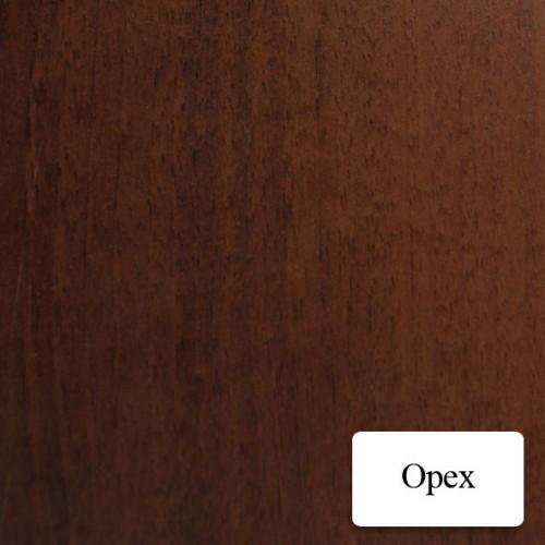 Двери межкомнатные шпонированные  Лаура со стеклом Омис Орех