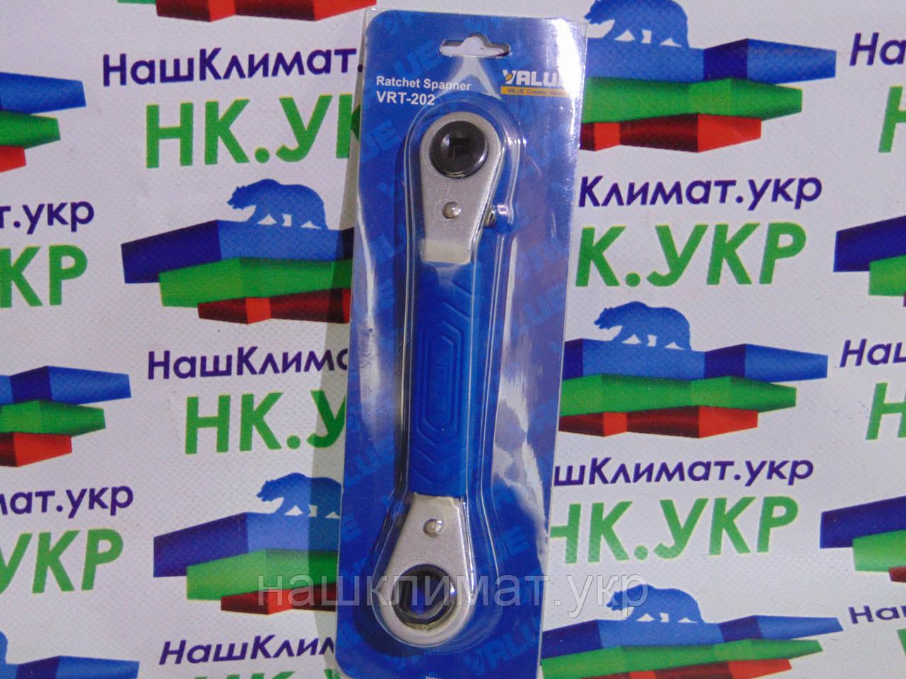 Ключ вентильный  VALUE VRT 201 (1/4 , 3/8 , 3/16, 5/16 ) - НашКлимат в Мелитополе