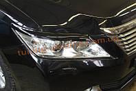 Реснички на фары для Toyota Camry XV50 2011-2014