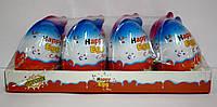 Яйцо пластиковое с шоколадом и сюрпризом Happy Egg 20 гр 8 шт Китай