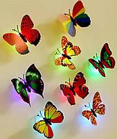 Светящаяся бабочка - ночник светодиодная