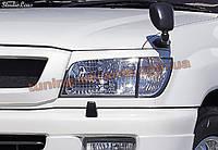 Реснички на фары для Toyota Land Cruiser 100 1998-2007