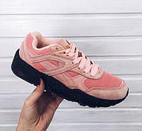 Розовые женские кроссовки пума, кроссовки Puma