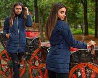 Стильная куртка с поясом холофайбер осень/еврозима тренд ( 42,44,46)