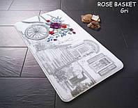 Набор ковриков для ванной Confetti 57х100+50х57 - Rose basket 01