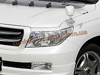 Реснички на фары для Toyota Land Cruiser 200 2007-2012