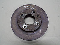 Диск тормозной передний Hyundai Matrix 2006 г.в. 1.5 CRDi, 51712-17000
