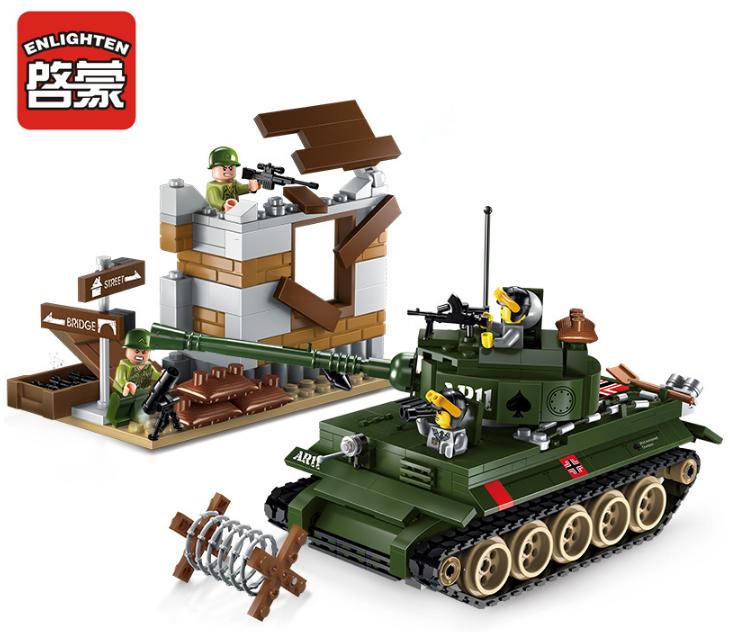 "Конструктор Brick 1711 ""Атака танка""380 дет."