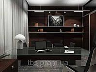 Дизайнерский ремонт в кабинете офиса