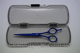 Ножницы для стрижки YRE 5,5 голубые