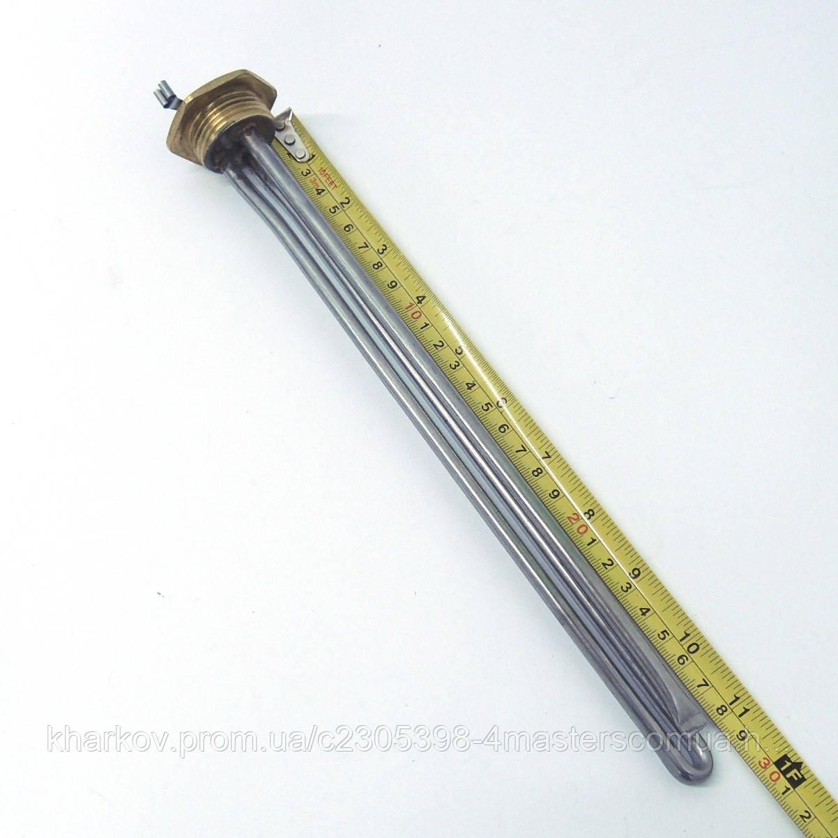 """ТЭН 500 Вт для алюминиевого радиатора, резьба G 1"""" (32,8 мм)"""