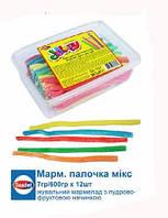 Мармеладные палочки без сахара 7 гр 86 шт Saadet (Акция 3+1)