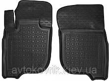 Поліуретанові передні килимки в салон Mitsubishi Pajero Sport III 2015- (AVTO-GUMM)