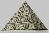Картина-модульная (Фото-картина) Долларавоя пирамида