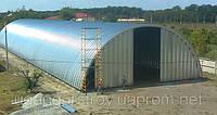 Строительство ангаров, зернохранилищ, складов по Украине.