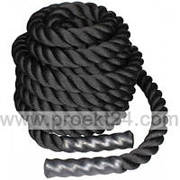 Канат для кроссфита 12 м BATTLE ROPE