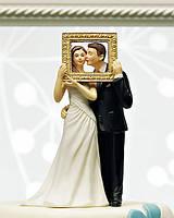 """Фигурка на свадебный торт """"Идеальная пара"""" жених с невестой"""