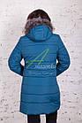 Женское зимнее пальто больших размеров 2017-2018 - (модель кт-146), фото 3