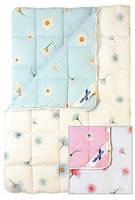Шерстяное одеяло из овечьей шерсти Billerbeck ЛЮКС 0105-02/05 стандартное (155х215) ●●●○○