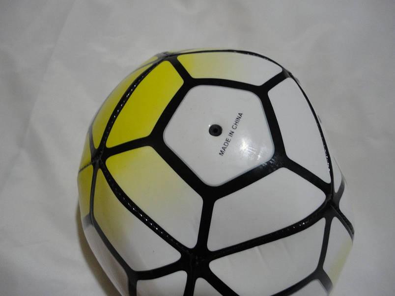 Мяч футбольный PREMIER LEAGUE Z FB-4911-Y, жёлтый-белый, фото 2