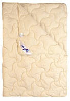 Шерстяное одеяло из овечьей шерсти Billerbeck НАТАЛИЯ 0104-22/02 легкое (172х205) ●○○○○