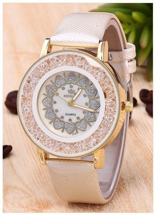 Часы женские наручные Orchidea beige