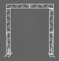 Арка свадебная разборная, прямоугольная