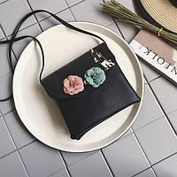 Черная сумочка в стиле Chanel