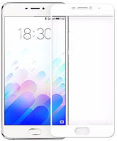 Защитное стекло ColorWay для Meizu M5 Note White, 0.33мм, 3D (CW-GSSCMM5N3DW)