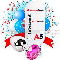 Смазка  с антисептиком 115 ml + пробка стальная для анальной стимуляции