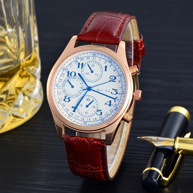 Часы наручные мужские Timeless brown
