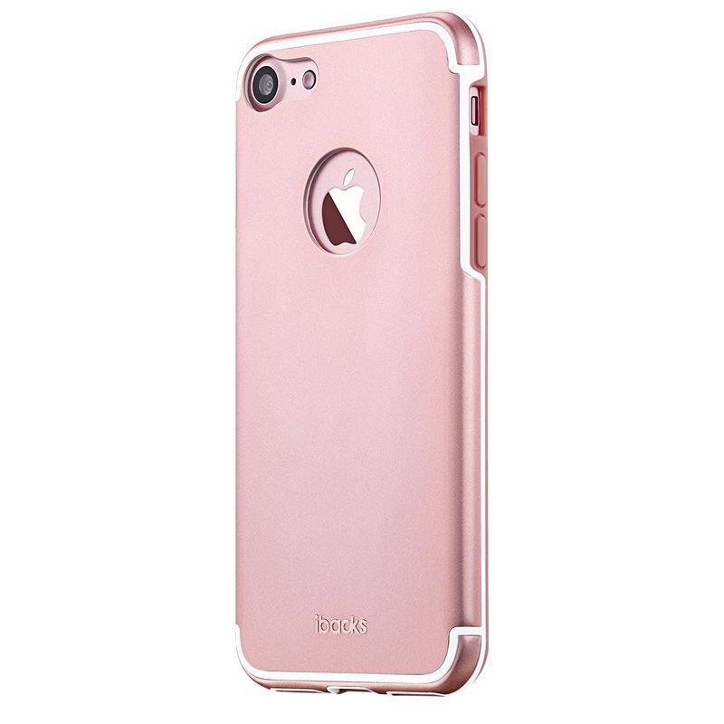 Защитный чехол iBacks Essence Aluminum розовое золото для iPhone 7 /8
