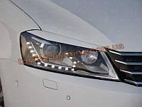 Реснички на фары для Volkswagen Passat B7 2010-2014