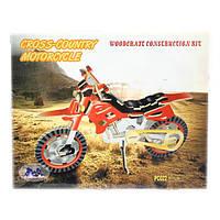 Sea-Land Мотоцикл (цветной), 3 пластины (PC022)