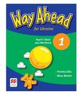 Английский для детей 1 класса. Учебник с тетрадью. Way Ahead. Оригинал