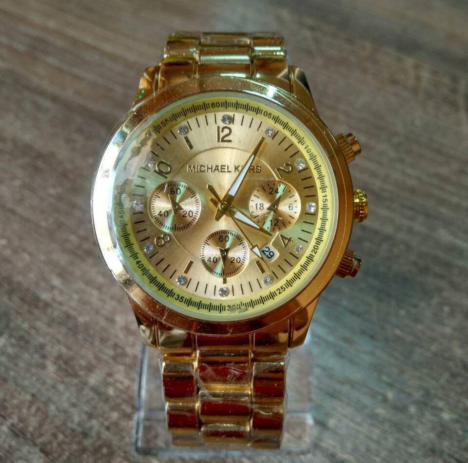 a3aa9e714e44 Часы женские наручные MK Dolce gold реплика  продажа, цена в Ивано ...